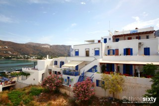 aegeon pension hotel on amorgos island